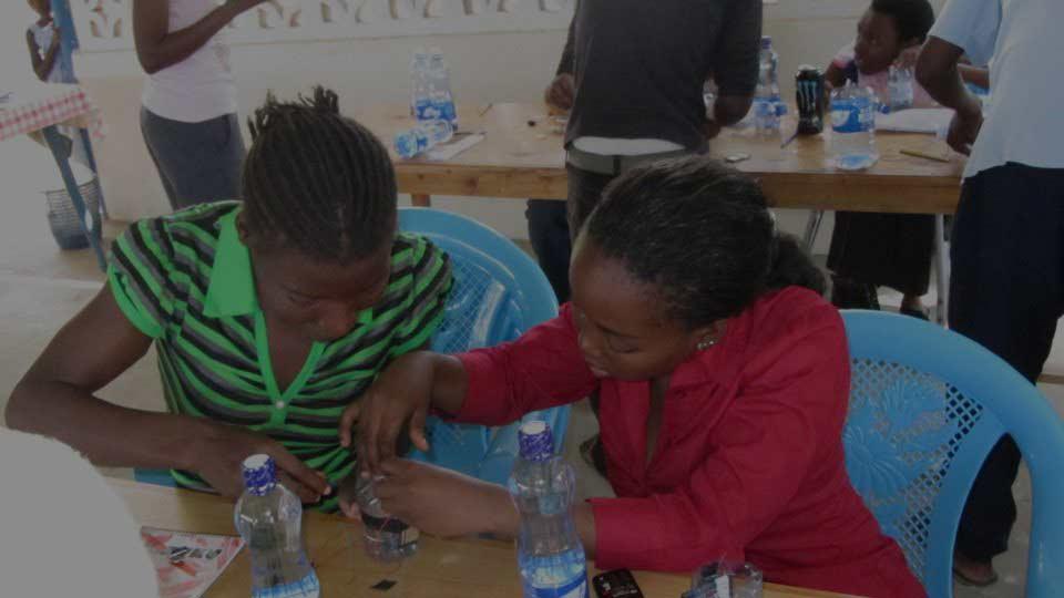 Nairobi, Kenya   August, 2013 with CAPSAY Kenya